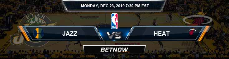 Utah Jazz vs Miami Heat 12-23-2019 Picks Previews and Game Analysis