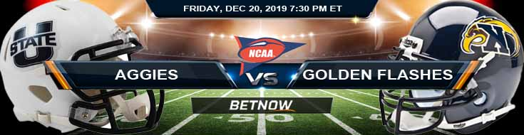 Utah State Aggies vs Kent State Golden Flashes 12-20-2019 Picks Super Bowl Line and Game Analysis