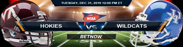 Virginia Tech Hokies vs Kentucky Wildcats 12-31-2019 Previews Odds and Predictions