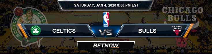Boston Celtics vs Chicago Bulls 1-4-2020 Picks Previews and Prediction