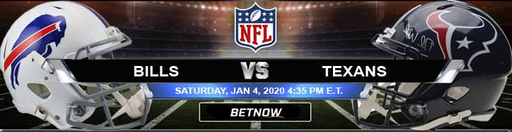 Buffalo Bills vs Houston Texans 01-04-2020 Spread Odds and Game Analysis