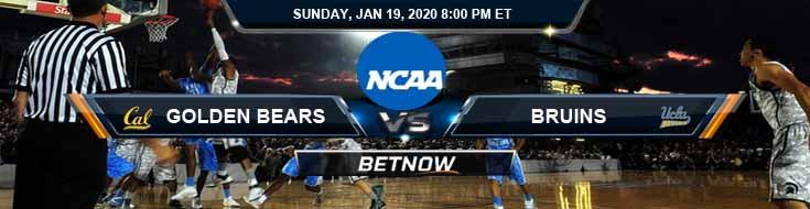 California Golden Bears vs UCLA Bruins 01-19-2020 Odds Picks and Previews