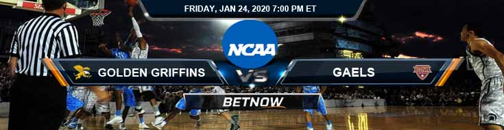 Canisius Golden Griffins vs Iona Gaels 1/24/2020 Odds, Picks and Previews
