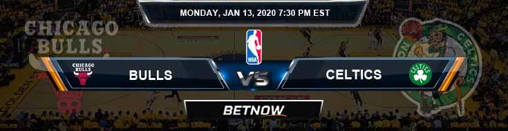 Chicago Bulls vs Boston Celtics 1-13-2020 Spread Picks and Prediction