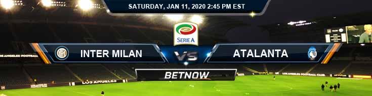 Inter Milan vs Atalanta 01-11-2020 Spread Betting Odds and Picks