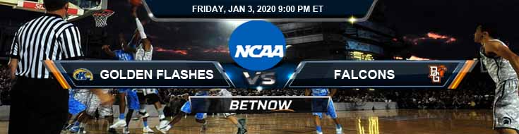 Kent State Golden Flashes vs Bowling Green Falcons 01032020 Odds Picks and Spread