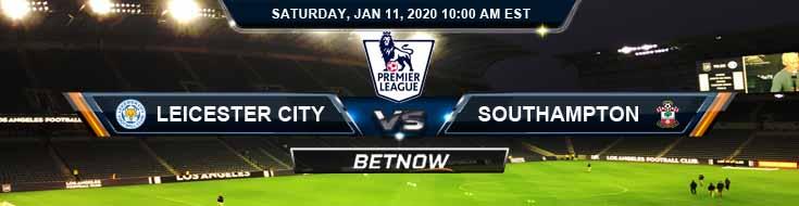 Leicester City vs Southampton 01-11-2020 Previews Spread and Picks