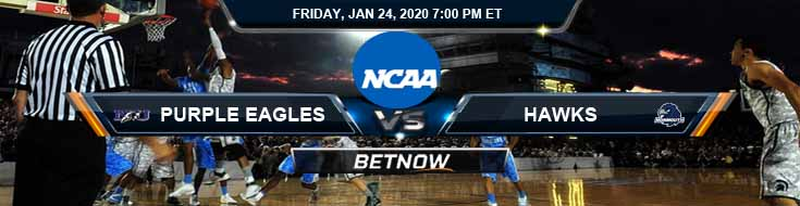 Niagara Purple Eagles vs Monmouth Hawks 1-24-2020 Picks Odds and Previews