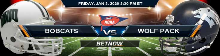 Ohio Bobcats vs Nevada Wolf Pack 01-03-2020 Game Analysis Odds and Predictions