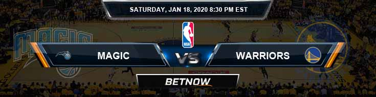 Orlando Magic vs Golden State Warriors 1-18-2020 NBA Picks and Previews