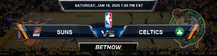 Phoenix Suns vs Boston Celtics 1-18-2020 Spread Picks and Previews