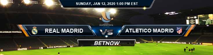 Real Madrid vs Atletico Madrid 01-12-2020 Spanish Super Cup Final Preview Predictions and Betting Odds