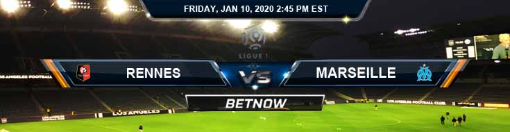 Rennes vs Marseille 01-10-2020 Preview Predictions and Betting Odds