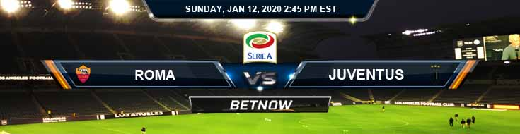 Roma vs Juventus 01-12-2020 Betting Odds Spread and Previews