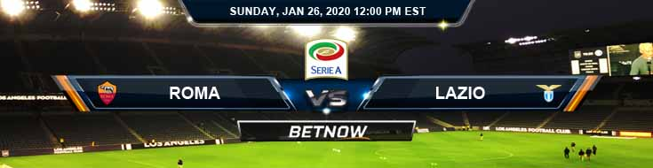Roma vs Lazio 01-26-2020 Betting Odds Previews and Predictions