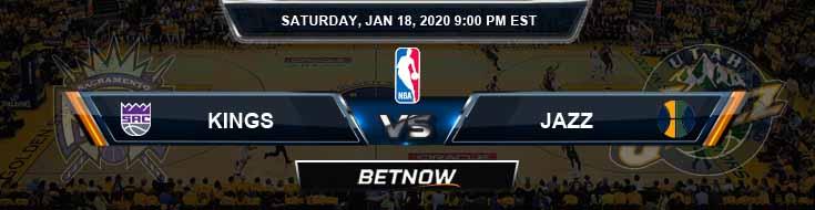 Sacramento Kings vs Utah Jazz 1-18-2020 Spread Picks and Previews