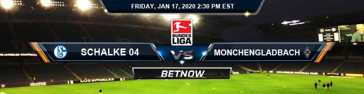 Schalke 04 vs Monchengladbach 01-17-2020 Predictions Betting Tips and Picks