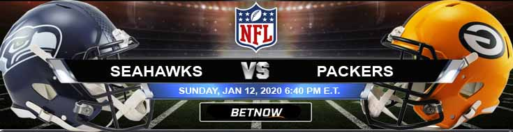Seattle Seahawks vs Green Bay Packers 01-12-2020 Divisional Playoffs Betting Picks and Trends