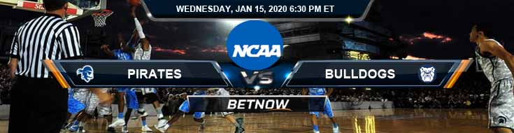 Seton Hall Pirates vs Butler Bulldogs 01-15-2020 Picks Spread and Predictions