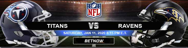 Tennessee Titans vs Baltimore Ravens 01-11-2020 Betting Odds Trends and Divisional Playoffs