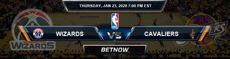 Washington Wizards vs Cleveland Cavaliers 1-23-2020 Odds Picks and Previews