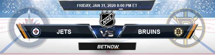 Winnipeg Jets vs Boston Bruins 01-31-2020 Predictions NHL Picks and Betting Odds