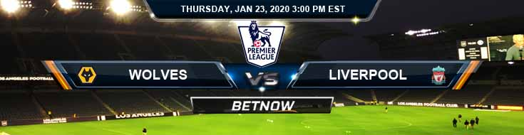 Wolves vs Liverpool 01-23-2020 Premier League Preview, Predictions and Betting Tips