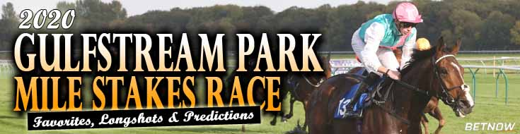 2020 Gulfstream Park Mile Stakes Race Favorites Longshots and Predictions