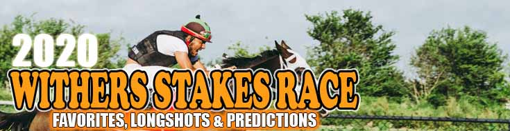 2020 Withers Stakes Race Favorites Longshots and Predictions