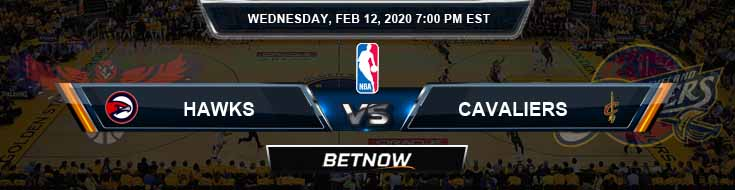 Atlanta Hawks vs Cleveland Cavaliers 02-12-2020 Spread Picks and Previews