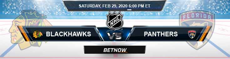 Chicago Blackhawks vs Florida Panthers 02-29-2020 NHL Game Analysis Odds and Picks