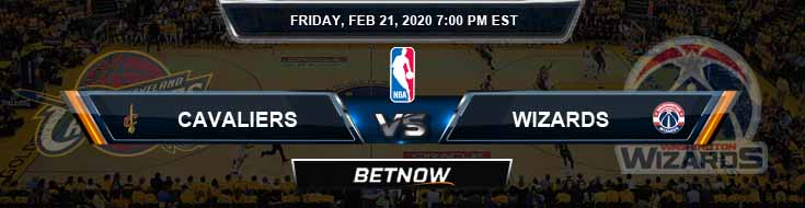 Cleveland Cavaliers vs Washington Wizards 02-21-2020 Spread Odds and Picks