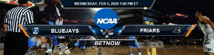 Creighton Bluejays vs Providence Friars 2/5/2020 Picks, Predictions and Preview