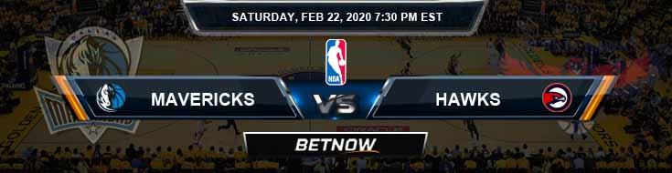 Dallas Mavericks vs Atlanta Hawks 2-22-2020 Spread Picks and Previews