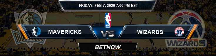 Dallas Mavericks vs Washington Wizards 2-7-2020 Spread Odds and Picks