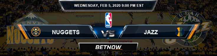 Denver Nuggets vs Utah Jazz 2-5-2020 Spread Picks and Game Analysis