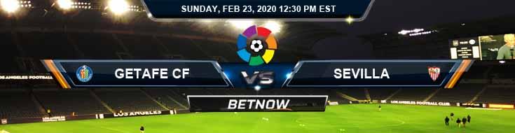 Getafe vs Sevilla 02-23-2020 Spread Picks and Preview