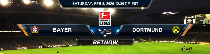 Leverkusen vs Dortmund 02-08-2020 Betting Odds Spread and Predictions