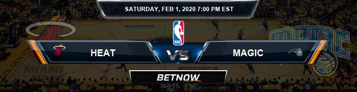 Miami Heat vs Orlando Magic 2-01-2020 NBA Picks and Game Analysis