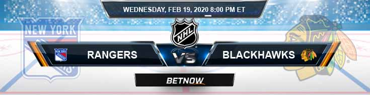 New York Rangers vs Chicago Blackhawks 02-19-2020 Previews NHL Picks and Game Analysis
