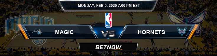 Orlando Magic vs Charlotte Hornets 02-03-2020 Spread Picks and Previews