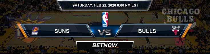 Phoenix Suns vs Chicago Bulls 02-22-2020 Spread Picks and Prediction