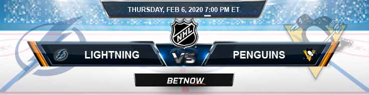 Tampa Bay Lightning vs Pittsburgh Penguins 02-06-2020 NHL Preview Betting Odds and Picks