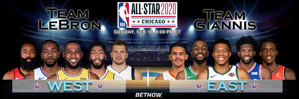 Team LeBron vs Team Giannis 2-16-2020 NBA All-Star Game 2020