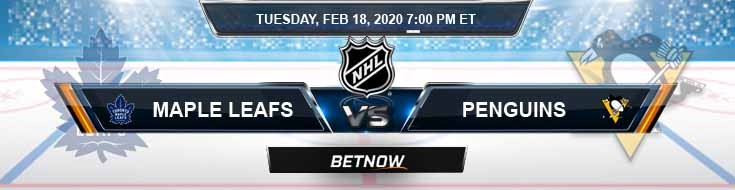 Toronto Maple Leafs vs Pittsburgh Penguins 02-18-2020 Game Analysis NHL Predictions and Betting Picks