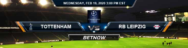 Tottenham vs RB Leipzig 02-19-2020 Betting Odds Soccer Game Analysis and Predictions