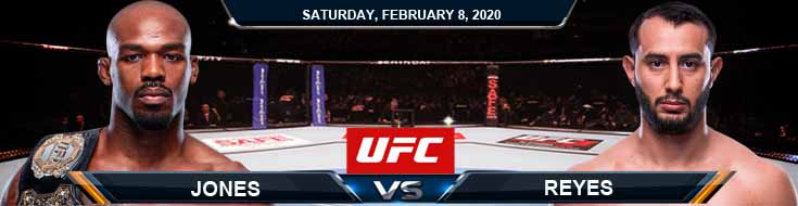 UFC 247 Jones vs Reyes 02-08-2020 Picks Predictions and Previews