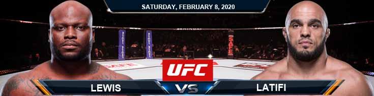 UFC 247 Lewis vs Latifi 02-08-2020 Game Analysis UFC Picks and Betting Previews
