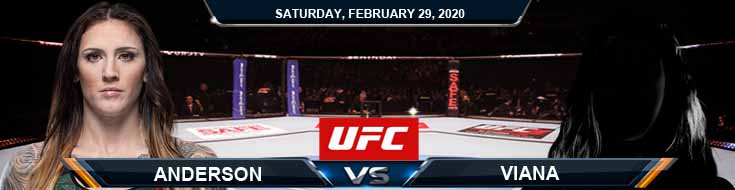UFC Fight Night 169 Anderson vs Dumont 2-29-2020 Fight Analysis Betting Picks and UFC Predictions