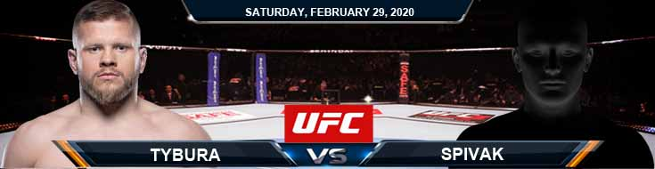 UFC Fight Night 169 Tybura vs Spivak 2-29-2020 Picks Predictions and Previews